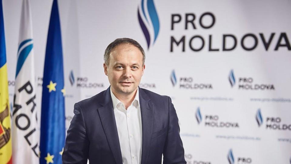 Лидер «PRO Moldova» Андриан Канду