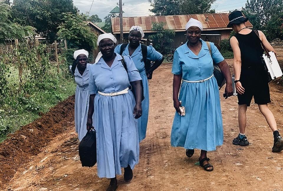 Аня и ее команда сняли фильм про девушек из Кении, каждая пятая из которых подвергается изнасилованиям. Фото: представлено героиней материала