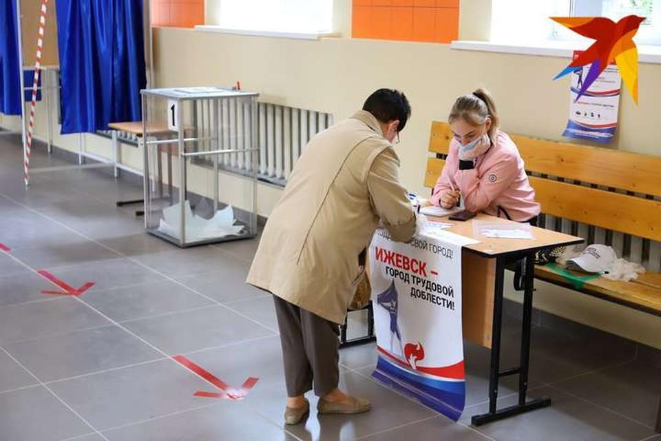 Если вы уже проголосовали по вопросу присвоения Ижевску звания города трудовой доблести на сайте администрации, то вы можете отдать свой голос повторно уже на участке