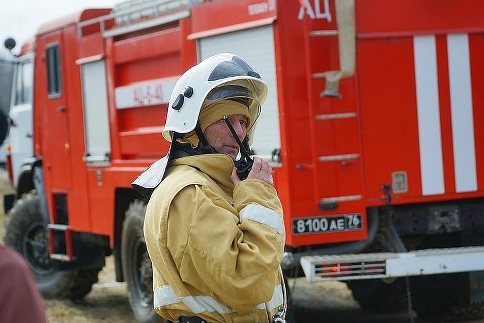 Пожар в многоэтажке в Москве