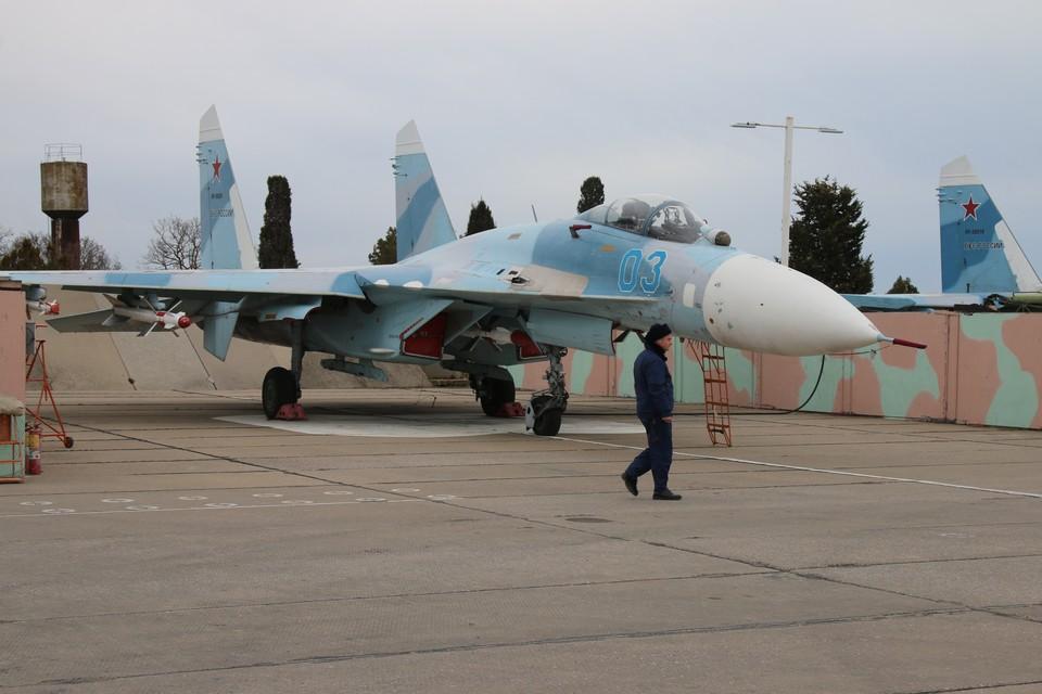 Российские истребители перехватили самолет-разведчик США над Черным морем