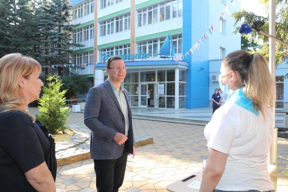 Глава региона уверен, что все санитарные нормы будут соблюдены ФОТО: Правительство Самарской области