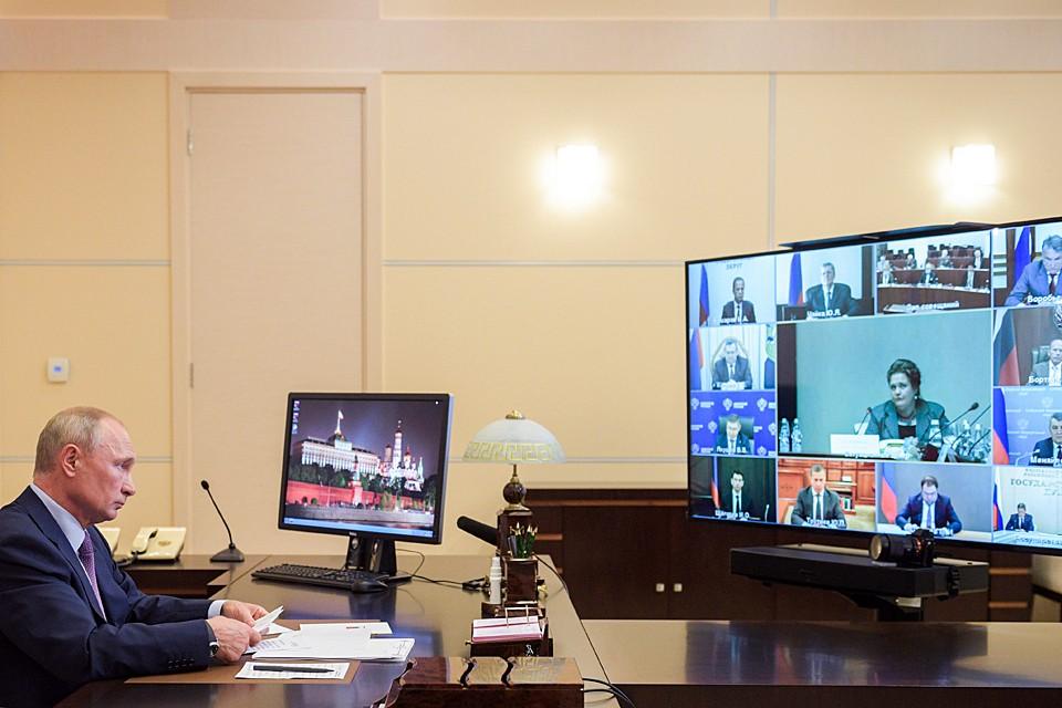 Путин сформулировал правительству его главную задачу - работать лучше, как этого требуют жители России. Фото: Алексей Дружинин/ТАСС
