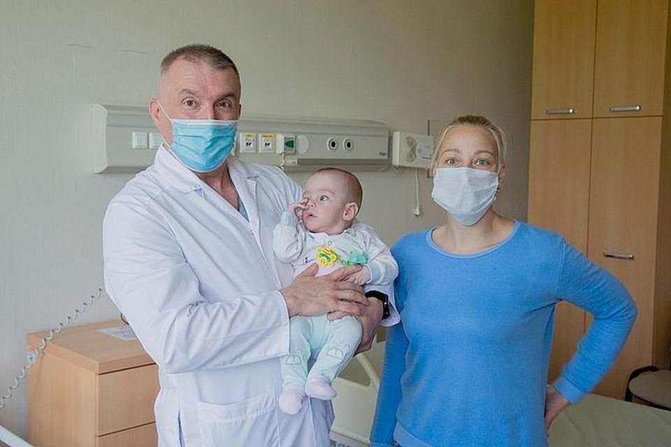 Врачи медцентра ДВФУ спасли маленького пациента. Фото: предоставлено пресс-службой организации