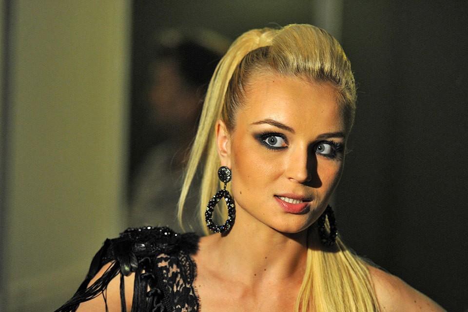 """Полина Гагарина на съемках шоу """"Фабрика звезд. Возвращение"""""""