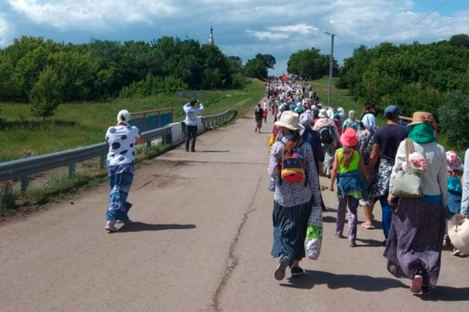 Шествие в Коробейниково