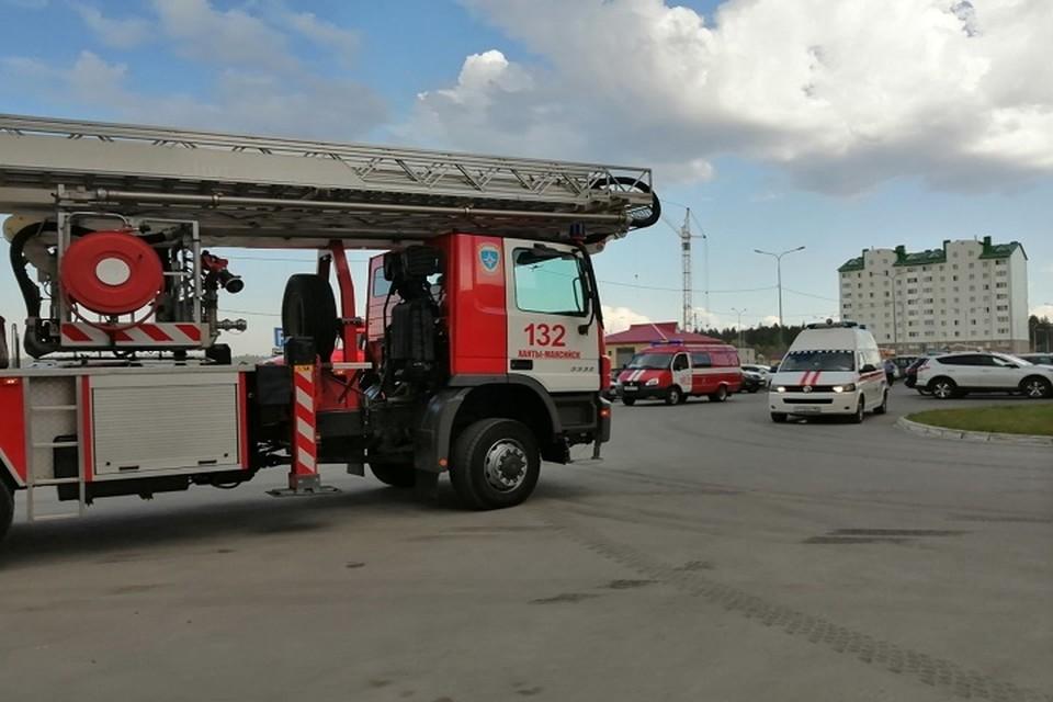 Югорские спасатели потушили за неделю 48 пожаров. Фото МЧС по ХМАО.