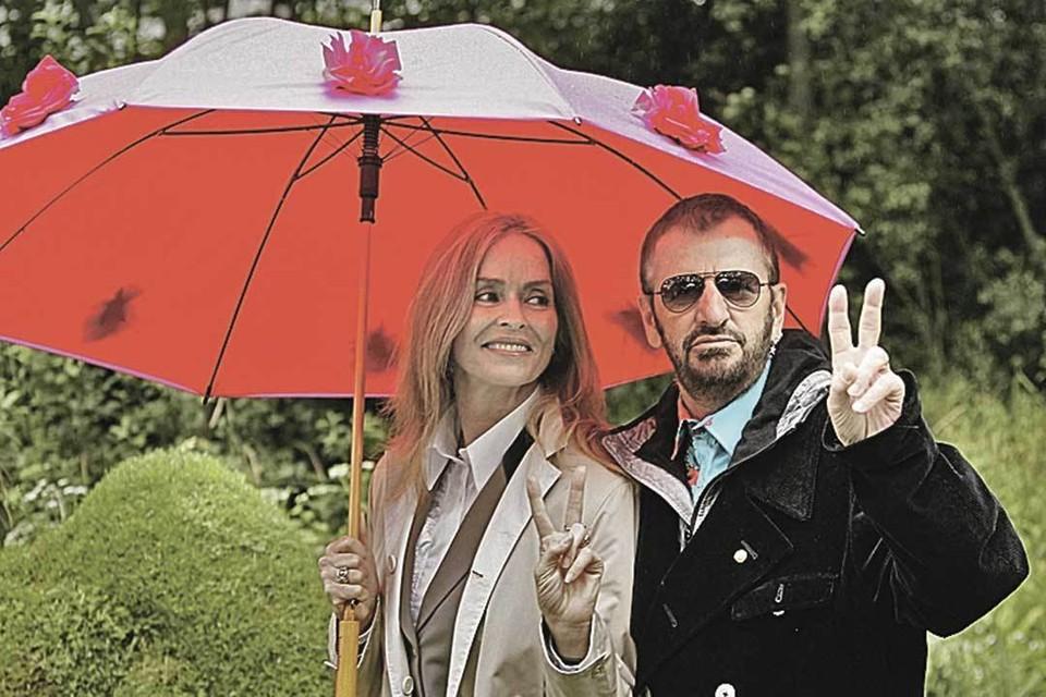 Красивые женщины предпочитают весельчаков (с женой Барбарой Бах).