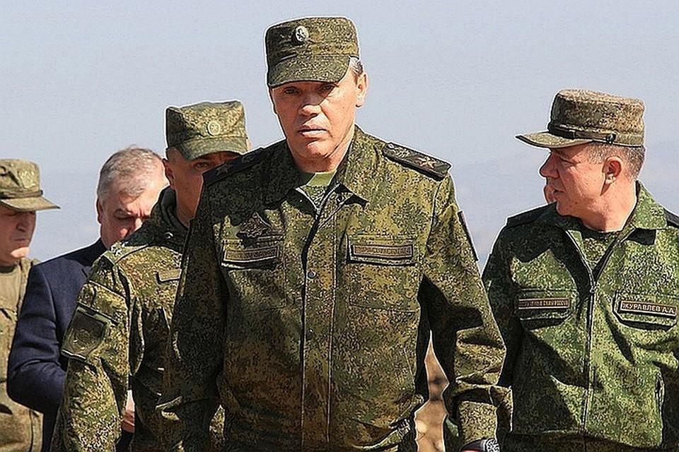 Начальник Генерального штаба Валерий Герасимов