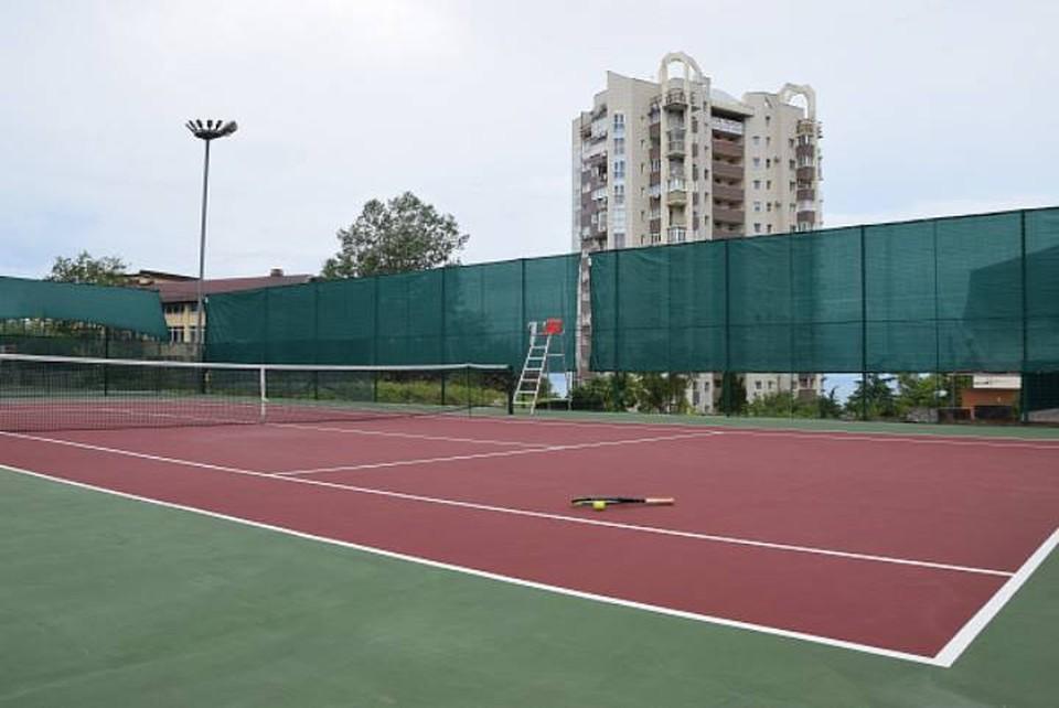 В Сочи отремонтированы старые теннисные корты. Фото мэрии Сочи