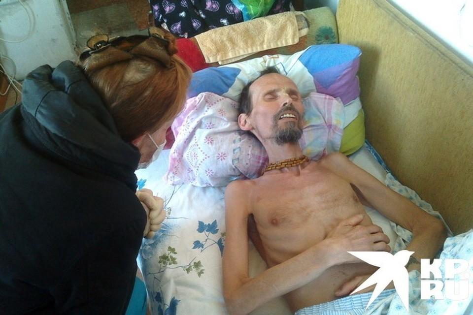 Умирающего племянника женщина нашла у сектантов. Фото: предоставлено тетей погибшего.