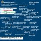 Карта распространения и статистика коронавируса в Брянской области на 11 июля 2020 года