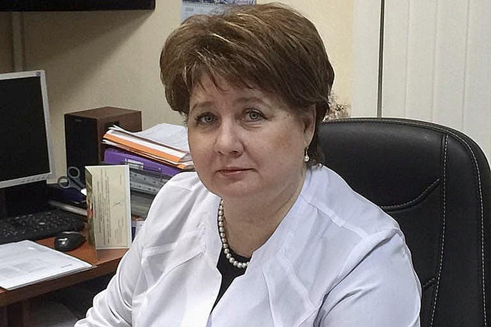 Ирина Гайдук даже во время болезни руководила поликлиникой по телефону. Фото: сайт поликлиники №3.
