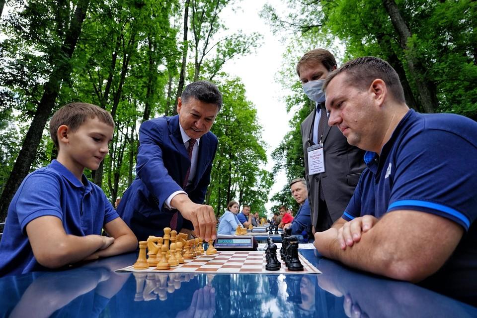 На Орловщине прошел первый Тургеневский шахматный турнир