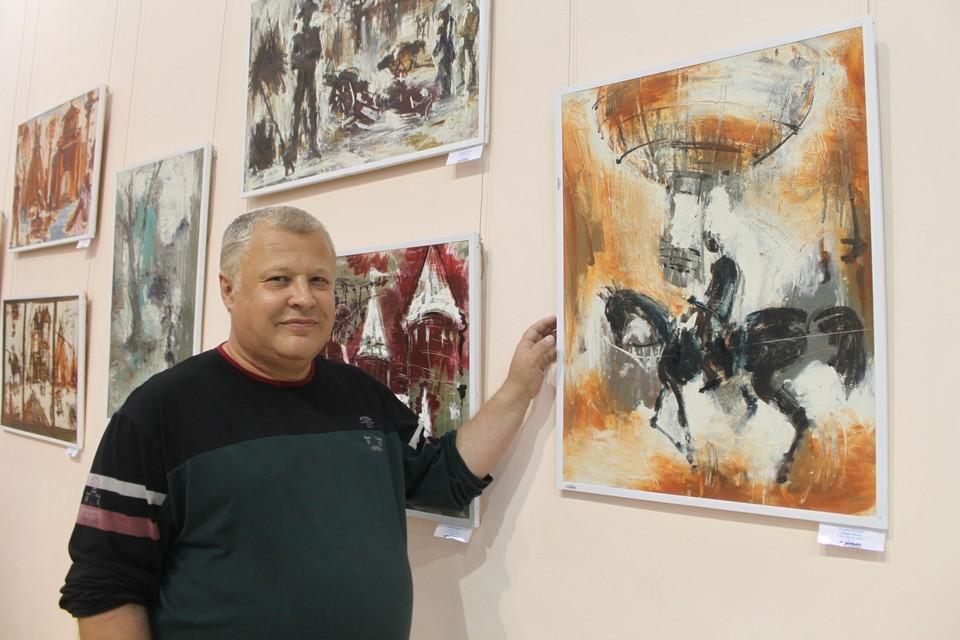 Радмир Качанов родился в семье художников