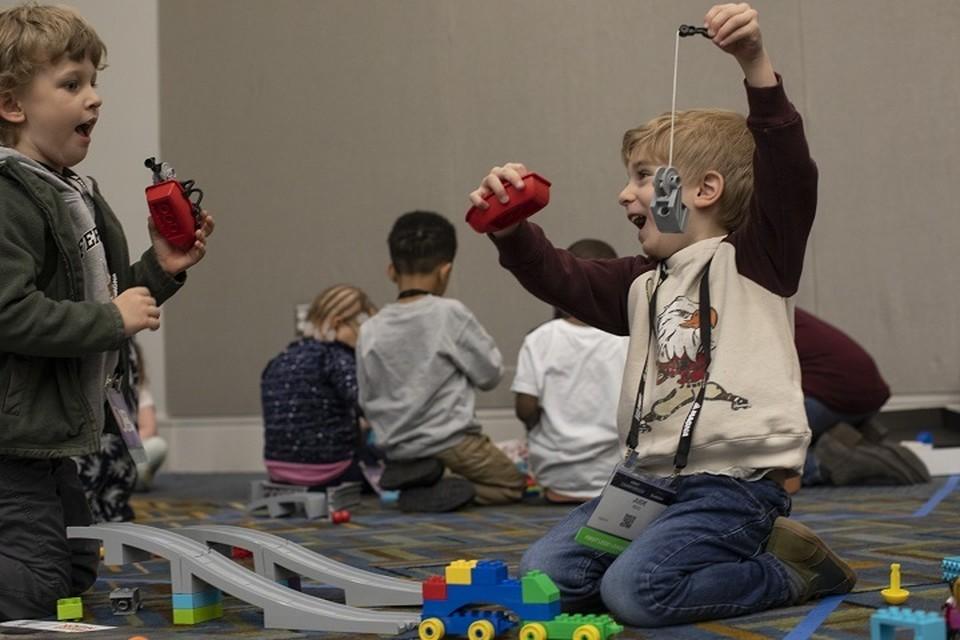 Фото предоставлено LEGO Education.