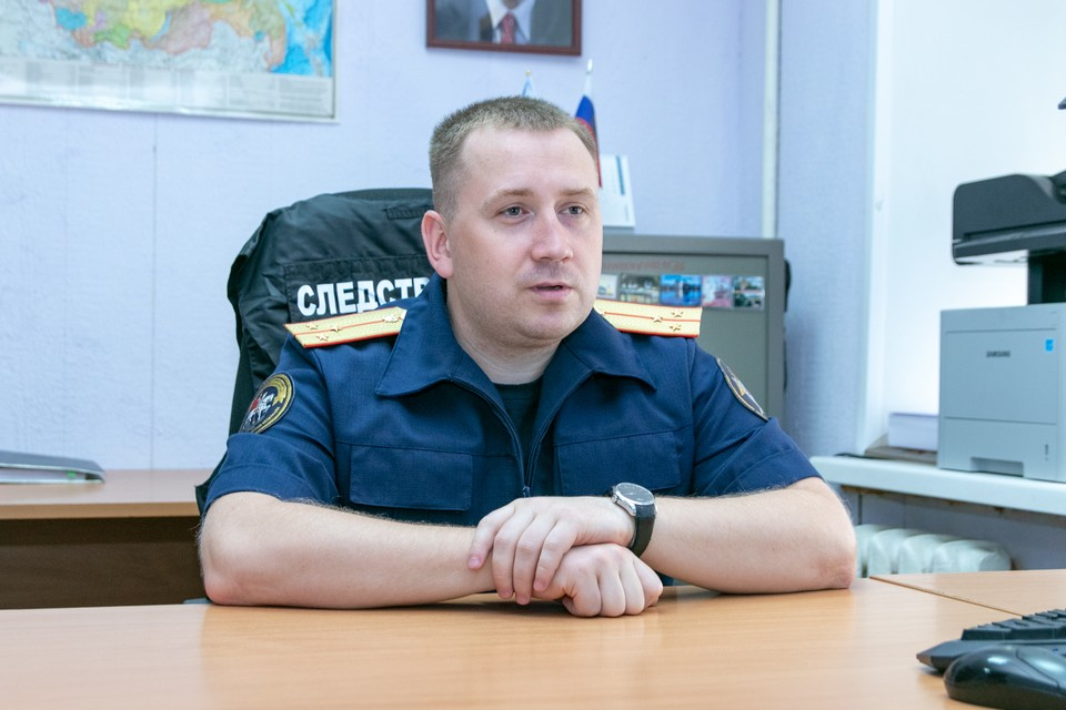 Следователь по особо важным делам Денис Ахкамов признается, что иногда приходится работать и психологом