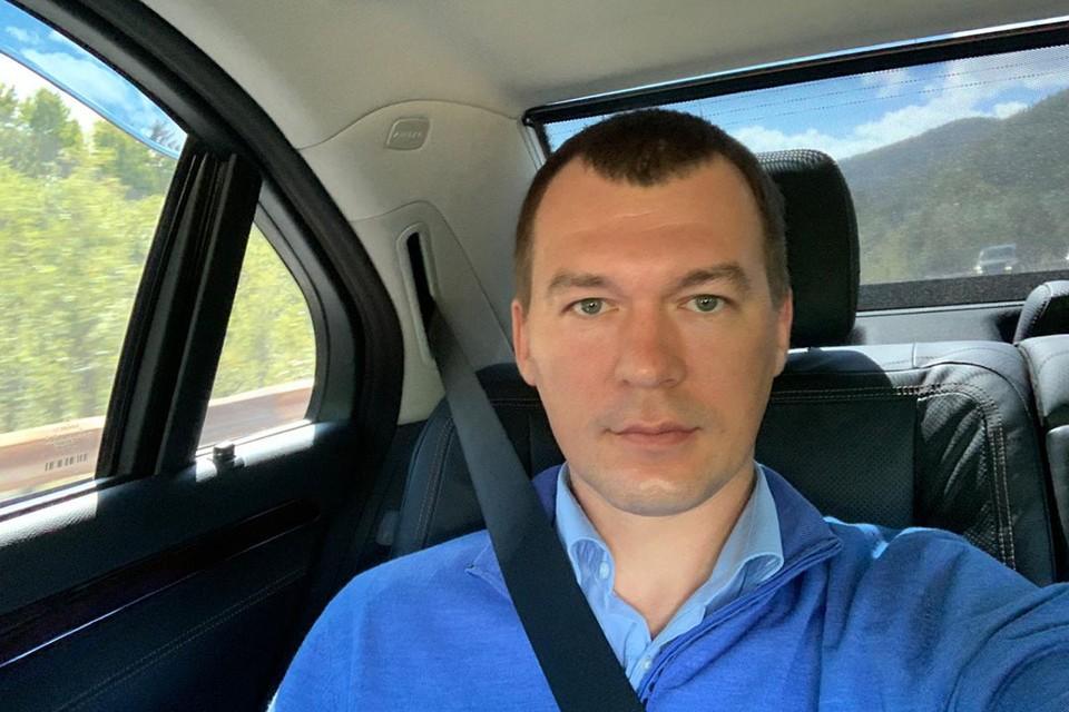Врио губернатора Хабаровского края сам ведёт репортаж о своей первой поездке по краю