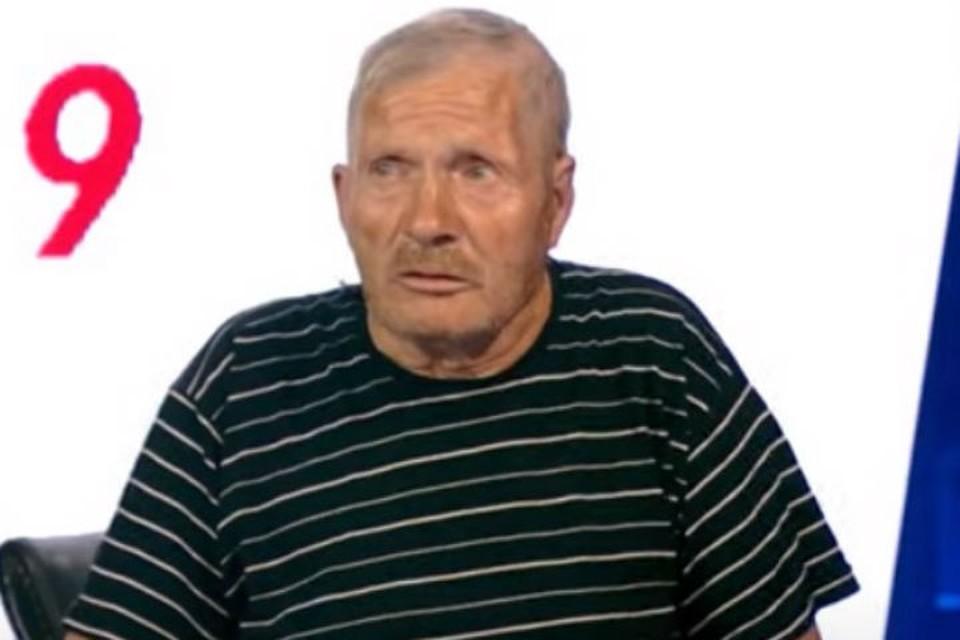 """Частично парализованный Вениамин Семенов Фото: """"На самом деле"""", Первый канал"""