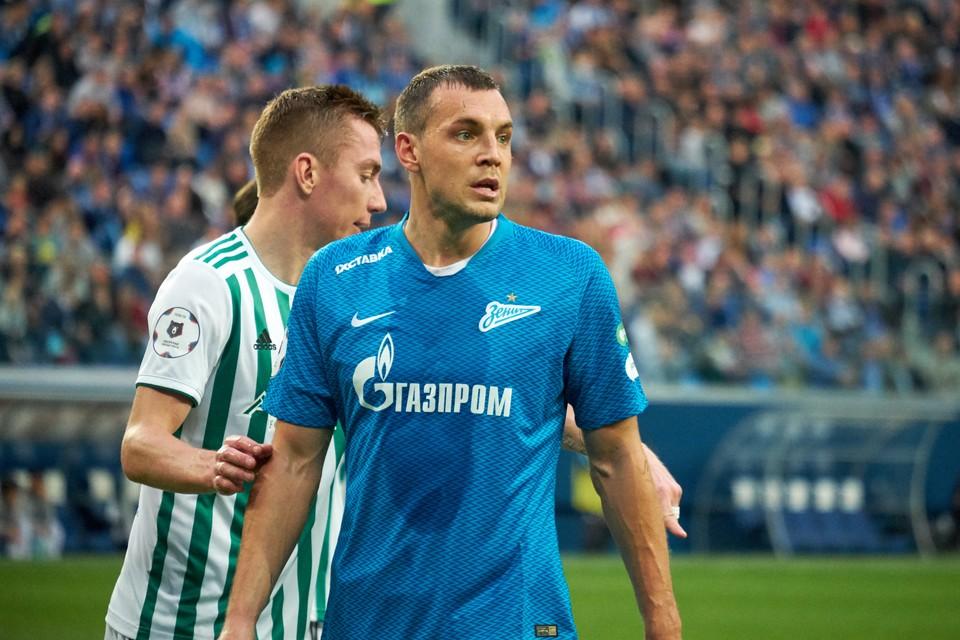 """""""Зенит"""" подписал новый контракт с Артемом Дзюбой."""