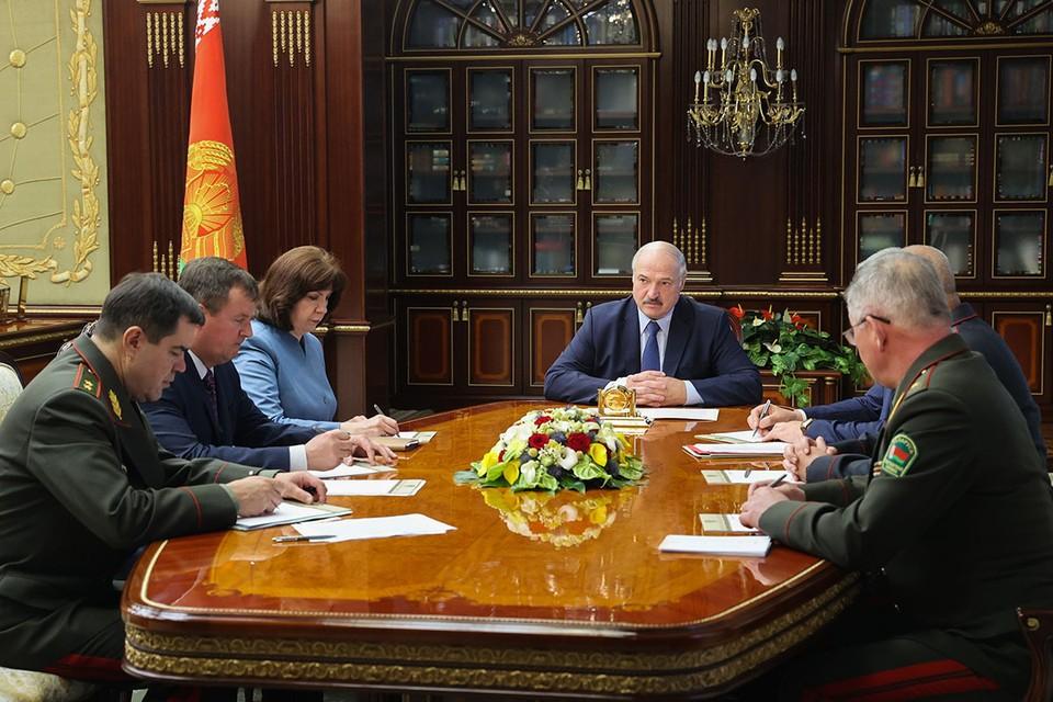 Лукашенко заявил, что в Минске задержали «солдат, выполнявших приказ». Фото: Николай Петров/БелТА/ТАСС