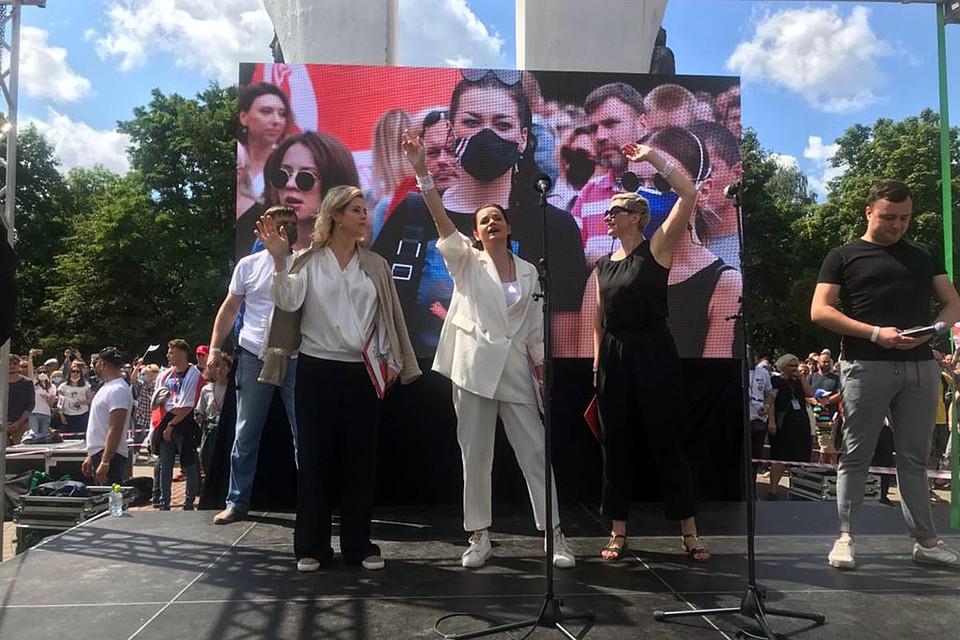 Кандидат в президенты Светлана Тихановская - о задержании белорусскими властями 33 россиян: Сделали хуже себе, а не России