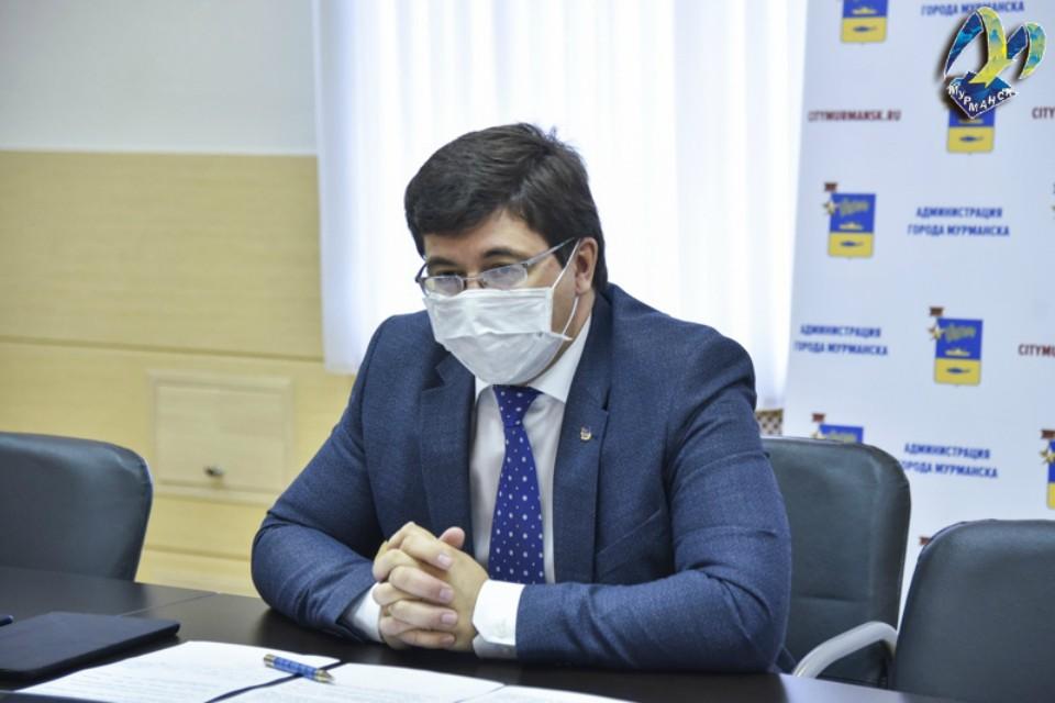 Глава администрации заработал 21,6 миллиона рублей. Фото: администрации Мурманска