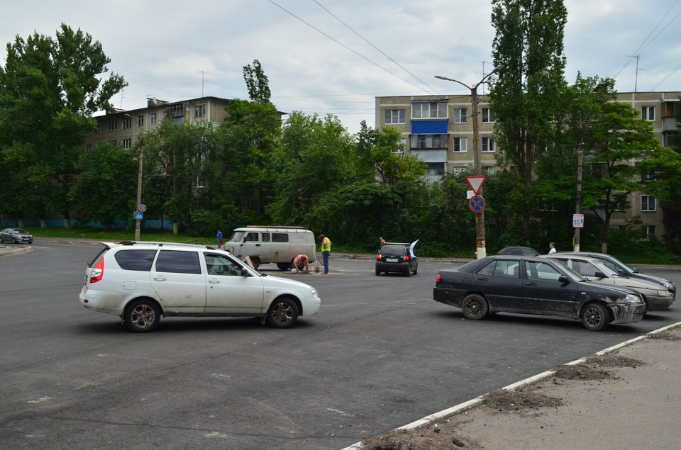 В Курске ежедневно происходят ДТП