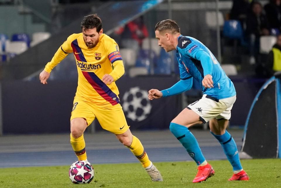 """""""Наполи"""" с """"Барселоной"""" играли весной первый матч, а второй - летом."""