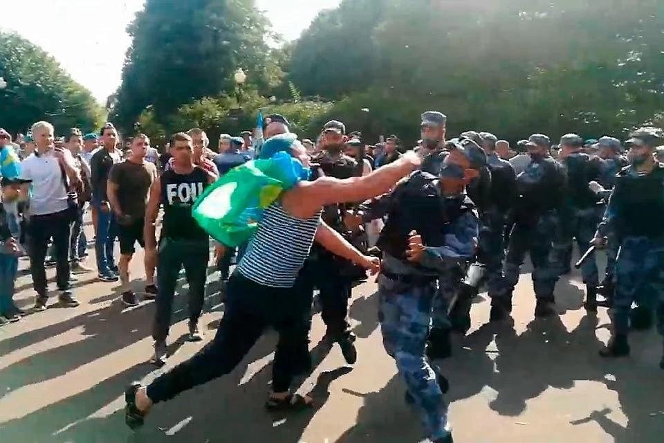 Задержан зачинщик потасовки на День ВДВ в парке Горького