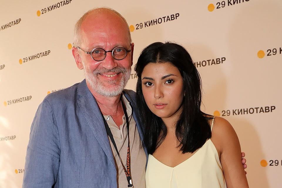 Телеведущий, режиссер Александр Гордон и его бывшая супруга Нозанин Абдулвасиева