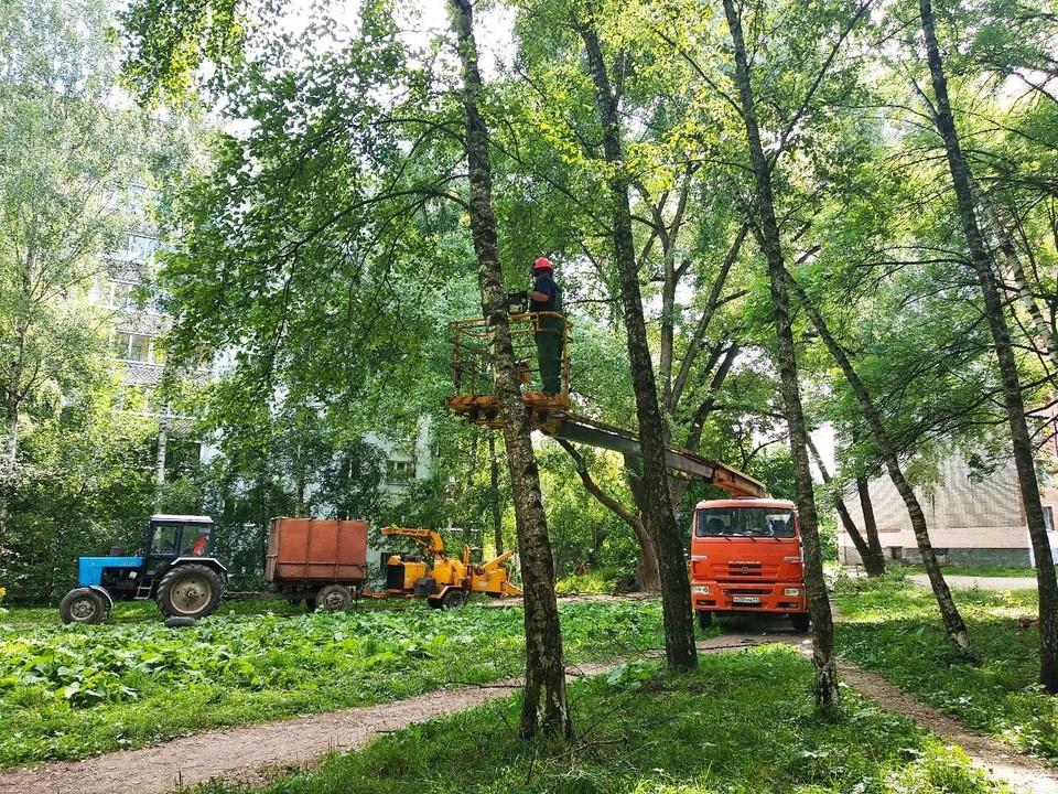 Сквер на улице Николаева в Смоленске начали благоустраивать. Фото: администрация г. Смоленска.