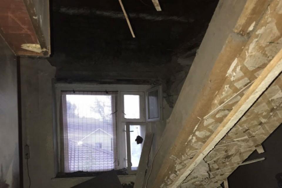 Дом уже более семи лет как признан аварийным. ФОТО: пресс-служба ГУ МЧС по Нижегородской области