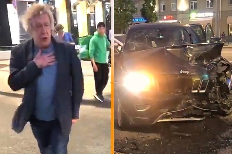 Свидетель аварии с участием Михаила Ефремова дала показания в суде