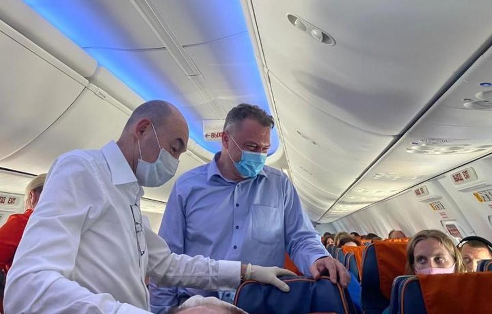 Волгоградцу повезло, что на борту вместе с ним оказались два профессора. Фото НМИЦ Шумакова.