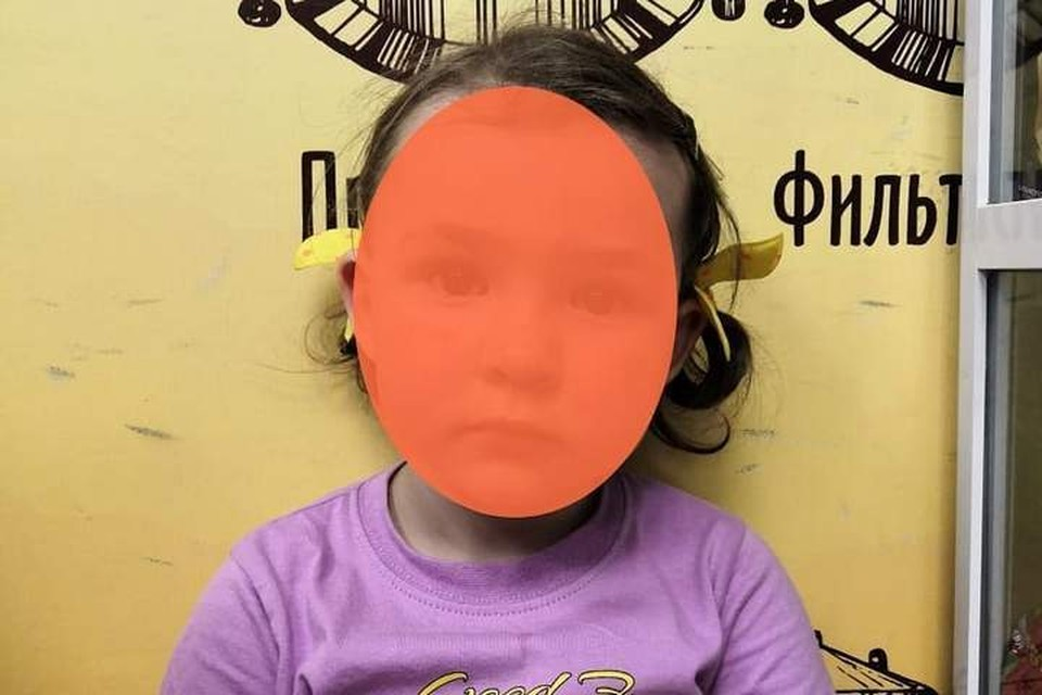 """Девочке на вид не больше трех лет. Фото: """"Примпоиск"""""""