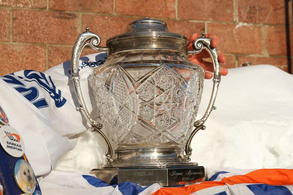 Так выглядит старейший трофей страны