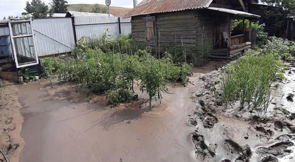Реки вышли из берегов в Бурятии и затопили села. Фото: ГУ МЧС по Бурятии.