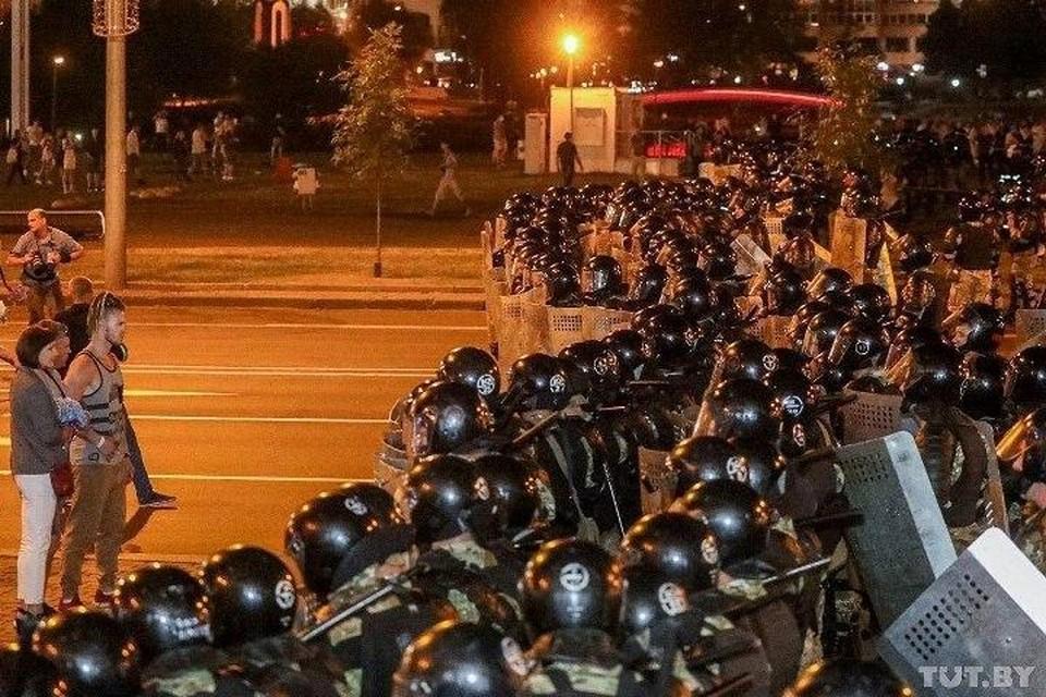 Правозащитник сообщил о погибшем в ходе беспорядков в Белоруссии