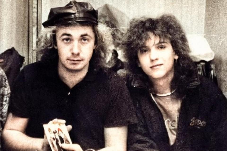 Александр Прико был вокалистом и клавишником в первом составе группы «Ласковый май». Фото: страница Андрея Разина в соцсетях