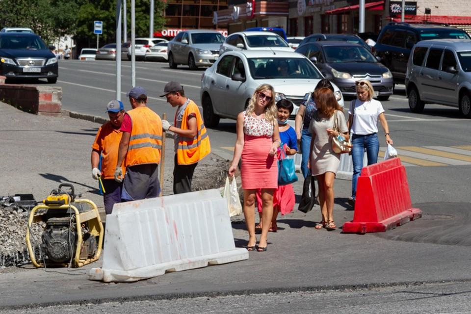 Каждое лето в Уфе начинается сезон дорожных работ