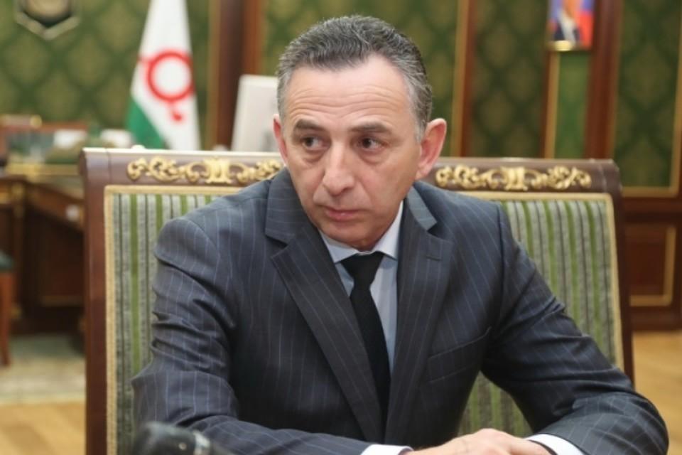 Дауд Алхазуров. Фото: администрация республики