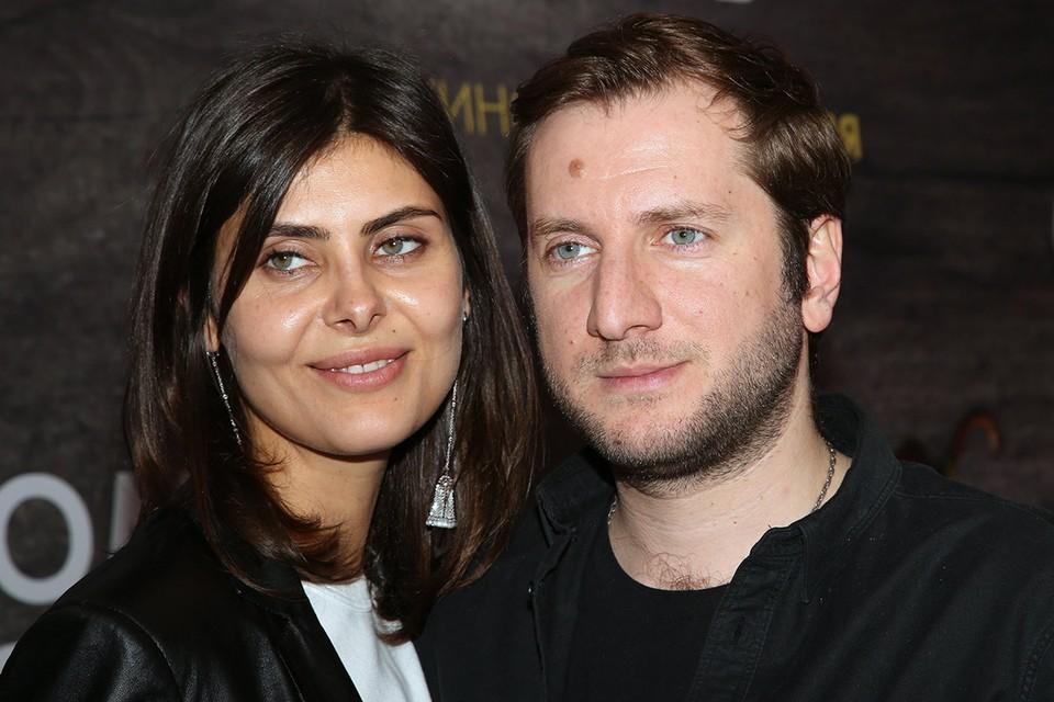 Надежда Оболенцева и Резо Гигинеишвили в феврале 2019 г.
