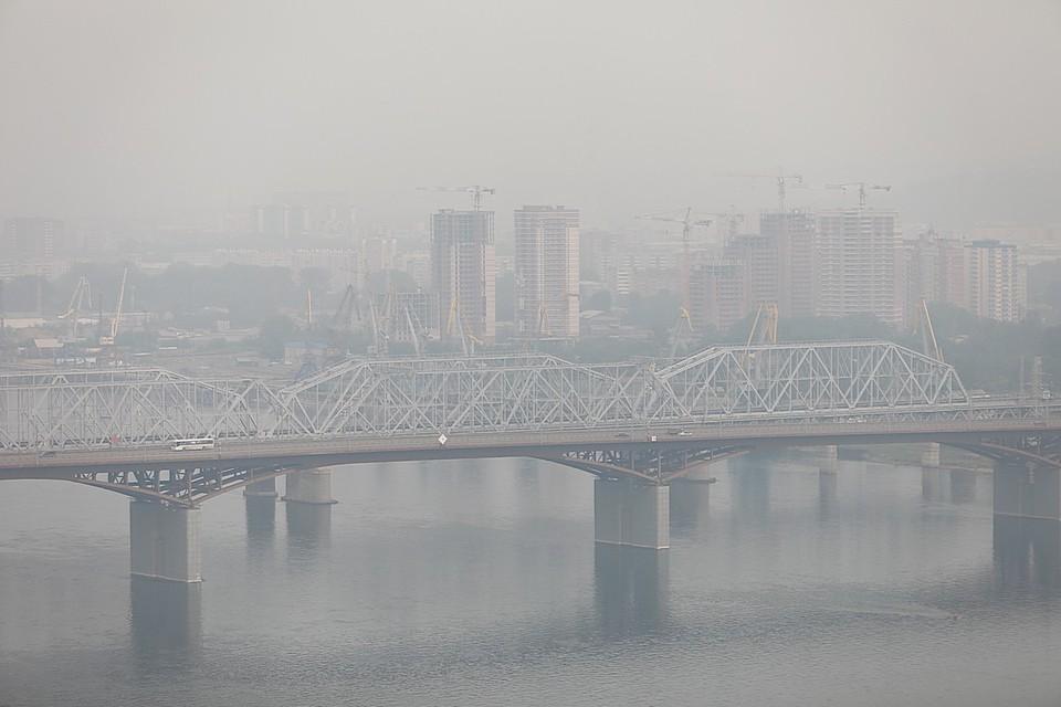 Дважды за неделю Красноярск стал самым грязным городом мира