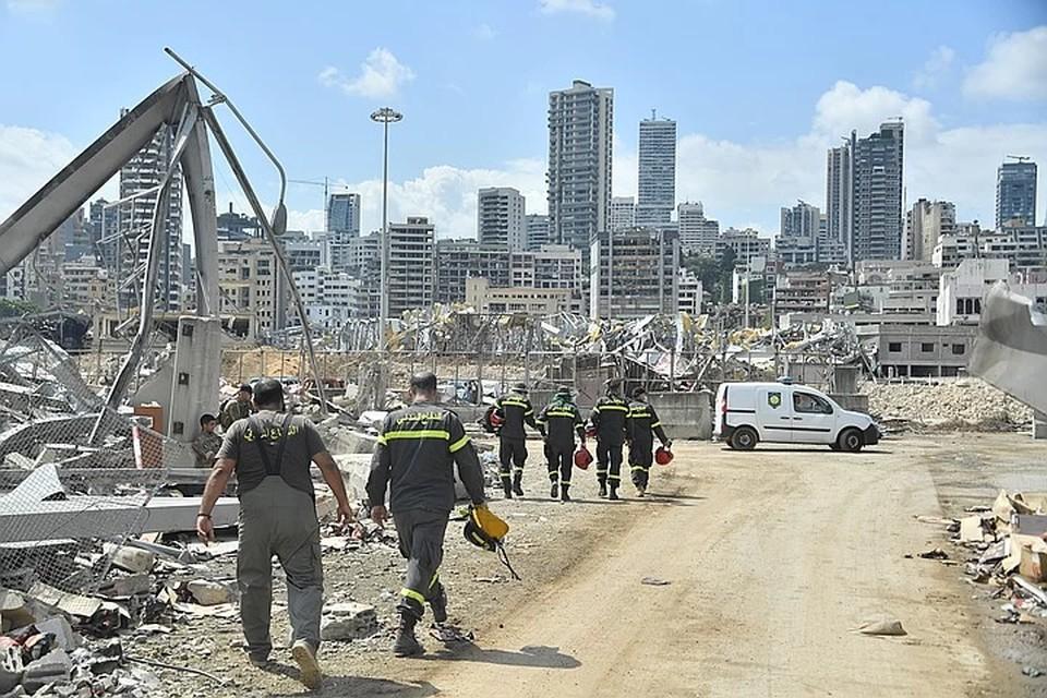 Взрыв в порту Бейрута разрушил половину города