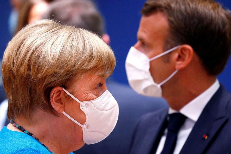 Что-то фрау Меркель ни словечком не осудила своего главного партнера по ЕС, президента Франции Мануэля Макрона, за жесткие разгоны «желтых жилетов»