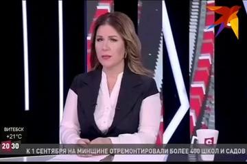 Ведущая СТВ Екатерина Забенько озвучила одиозный сюжет про Купаловский театр и исчезла из соцсетей