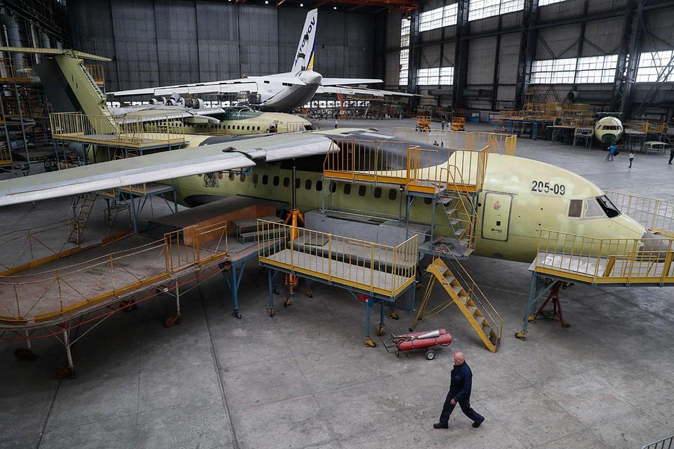 С 2016-го «Антонов» не произвел ни одного серийного самолета