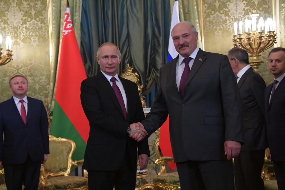 Лукашенко поблагодарил Путина и назвал его своим другом