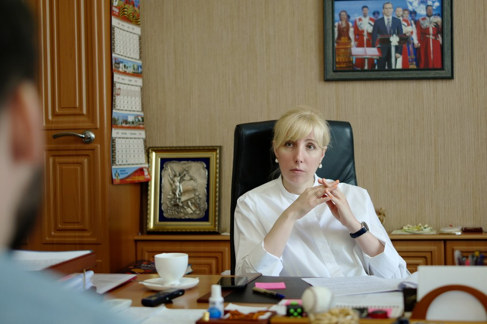 Анна Минькова. Фото: Иван Семенец